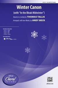 Thomas Tallis: Winter Canon SSA