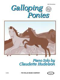 Claudette Hudelson: Galloping Ponies