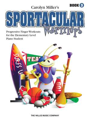 Carolyn Miller: Sportacular Warm-Ups, Book 3 Product Image