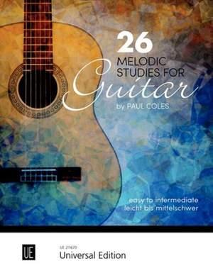 Coles Paul: 26 Melodic Studies