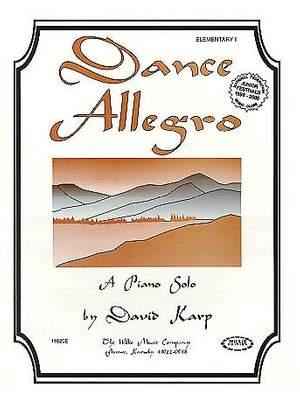 David Karp: Dance Allegro