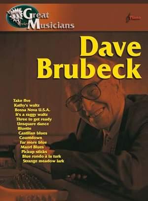 Dave Brubeck: Great Musicians: Dave Brubeck