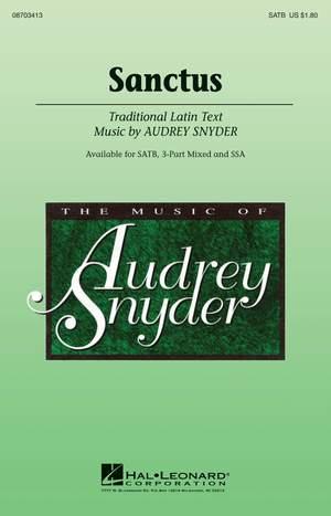 Audrey Snyder: Sanctus