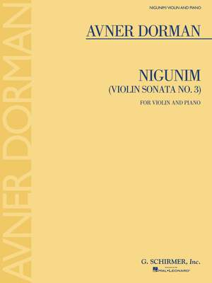 Avner Dorman: Nigunim (Violin Sonata No. 3)