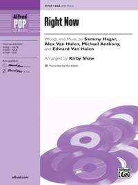 Michael Anthony/Sammy Hagar/Alex Van Halen/Edward Van Halen: Right Now SSA