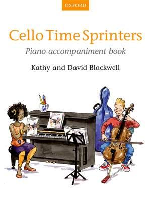 Blackwell, Kathy: Cello Time Sprinters Piano Accompaniment Book