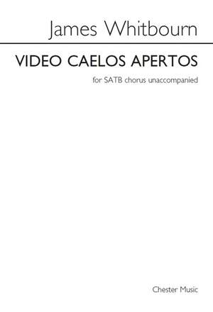 James Whitbourn: James Whitbourn: Video Caelos Apertos