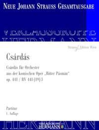 Strauß (Son), J: Csárdás op. 441 RV 441-[19]-3