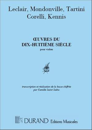 Oeuvres Du 18Siecle