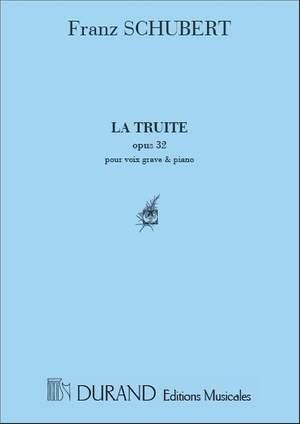 Franz Schubert: La Truite Voix Grave-Piano