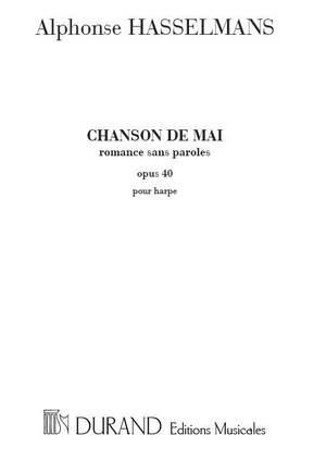 Alphonse Hasselmans: Chanson De Mai Op. 40