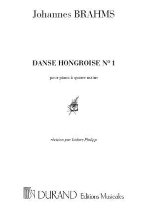 Johannes Brahms: Danses Hongroises N 1 4 Mains