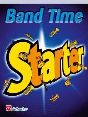 Jan de Haan: Band Time Starter ( Bb Baritone TC )