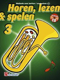 Jaap Kastelein_Michiel Oldenkamp: Horen Lezen & Spelen 3 bariton / euphonium TC