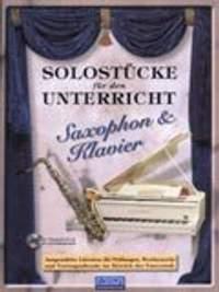Various: Solostücke für den Unterricht (Saxophon & Klav.)