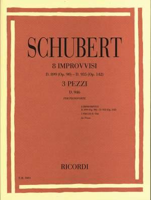 Franz Schubert: 8 Improvvisi Opus 90 - Opus 142