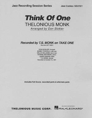 Thelonious Monk: Think of One