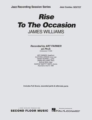James Williams: Rise to the Occasion