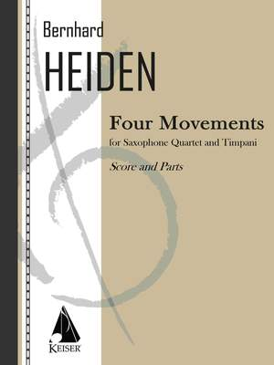 Bernhard Heiden: Four Movements