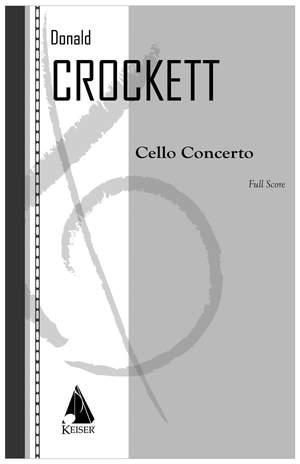 Donald Crockett: Cello Concerto