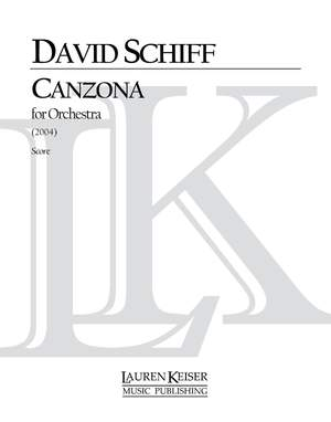 David Schiff: Canzona