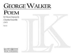 George Walker: Poem