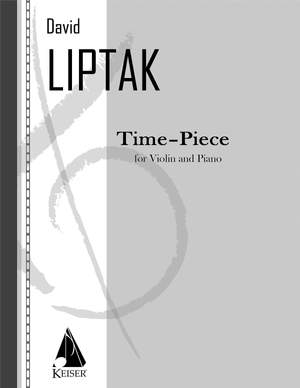 David Liptak: Time - Piece