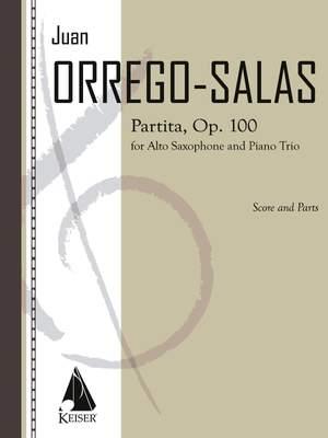 Juan Orrego-Salas: Partita, Op. 1