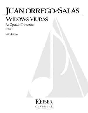 Juan Orrego-Salas: Widows Viudas