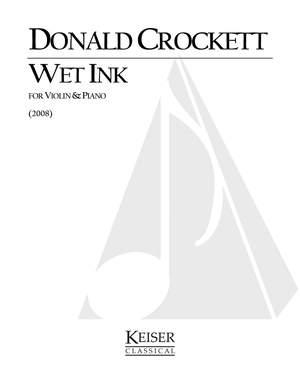 Donald Crockett: Wet Ink