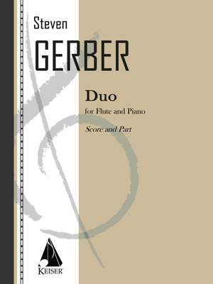 Steven R. Gerber: Duo for Flute and Piano