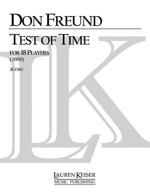 Don Freund: Test of Time