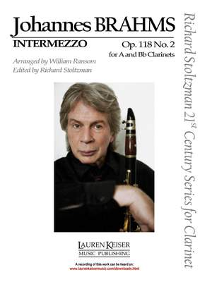 Johannes Brahms: Intermezzo, Op. 118, No. 2