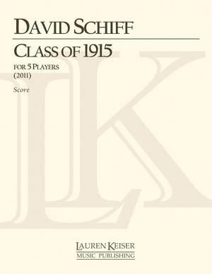 David Schiff: Class of 1915