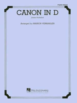 Johann Pachelbel: Canon in D - Piano or Organ Solo