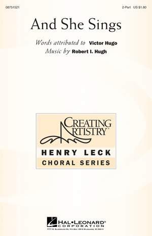 Robert I. Hugh: And She Sings Product Image