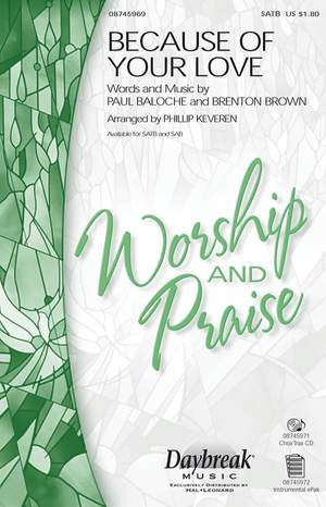 Brenton Brown_Paul Baloche: Because of Your Love