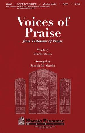 Charles Wesley: Voices of Praise from Testament of Praise Product Image