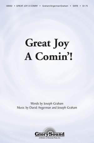 David Angerman_Joseph Graham: Great Joy A-Comin'