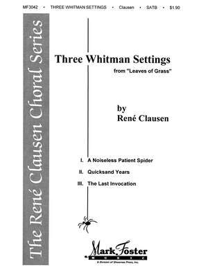 René Clausen: Three Whitman Settings
