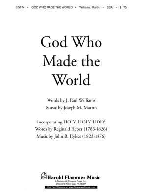J. Paul Williams_Joseph M. Martin: God Who Made the World