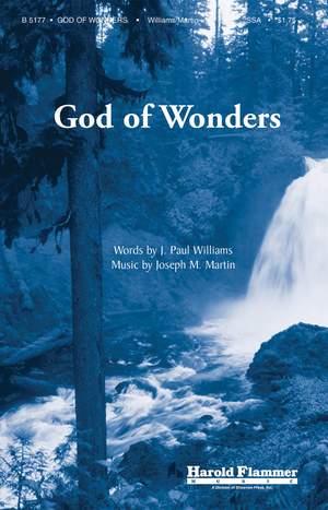 J. Paul Williams_Joseph M. Martin: God of Wonders