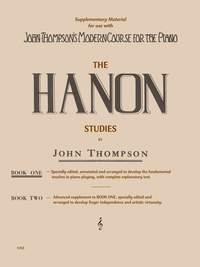 Charles-Louis Hanon: John Thompson's Hanon Studies Book 1