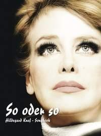 Hildegard Knef: So Oder So - Songbook