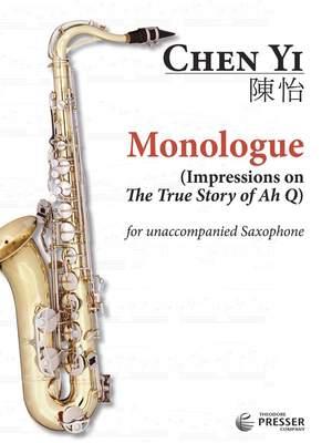 Chen, Y: Monologue