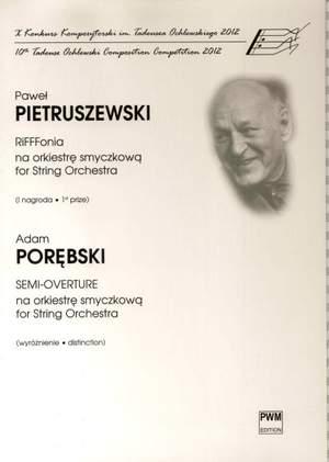 Pietruszewski: RiFFFonia & Porębski: Semi-Overture