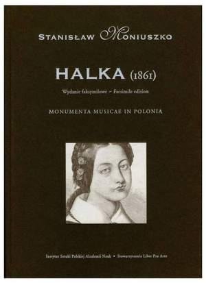 Moniuszko, S: Halka Facsimile Full Score in 4 Volumes