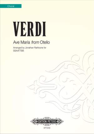 Verdi, arr. Rathbone: Ave Maria from Otello