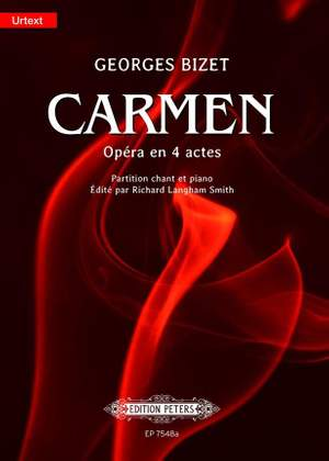Bizet: Carmen - New Critical Edition (Vocal Score)