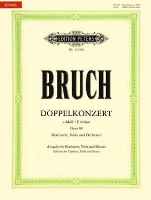 Bruch, M: Doppelkonzert e-Moll op. 88